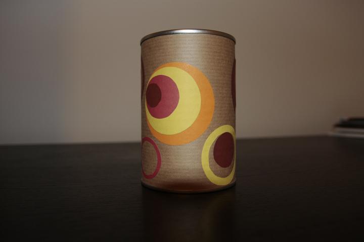 Moje DIY :-) - Tak som si vyrobila stojan na perá, ceruzky...