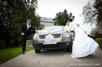 svadobne auto nakoniec quaskaj :)