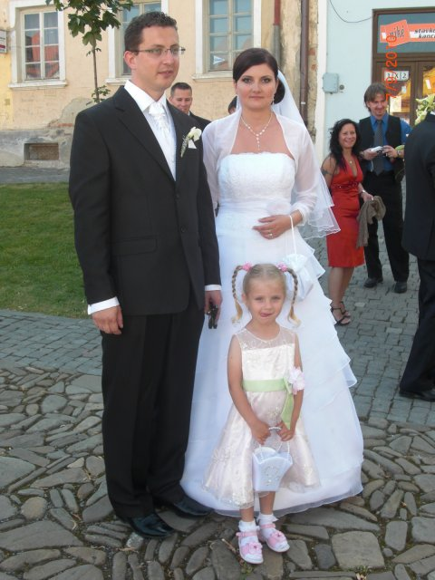 Zuzana Fecková{{_AND_}}František Gravecz - s malou druzickou