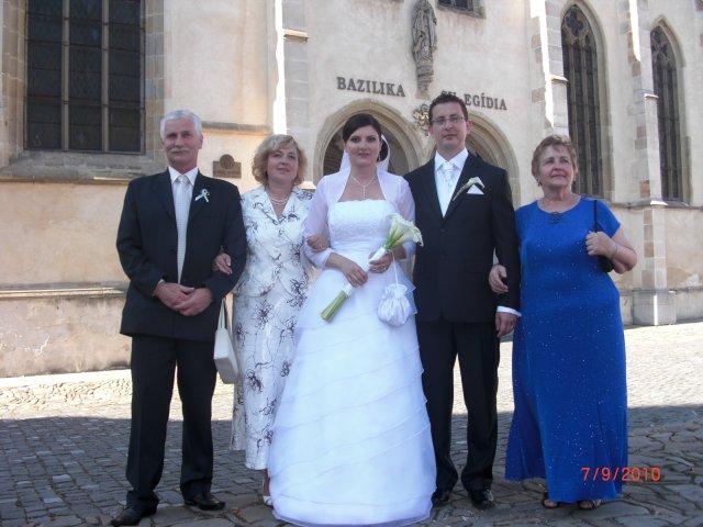 Zuzana Fecková{{_AND_}}František Gravecz - s rodicmi
