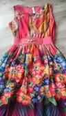 Pestrofarebné šaty , 36
