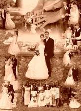môjmu drahému som urobila k 1. výročiu našu svadobnú foto