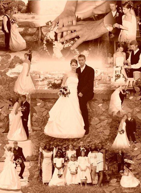 Ivka{{_AND_}}Tomáš - môjmu drahému som urobila k 1. výročiu našu svadobnú foto