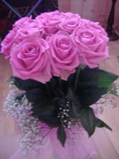 Krásna kytica od milého na moje narodeniny...