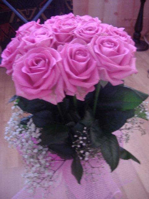 25.04.2009 - Krásna kytica od milého na moje narodeniny...