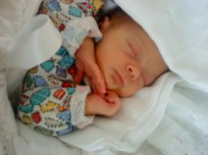 Naša malá Lucinka. Narodila sa 26.2.2010