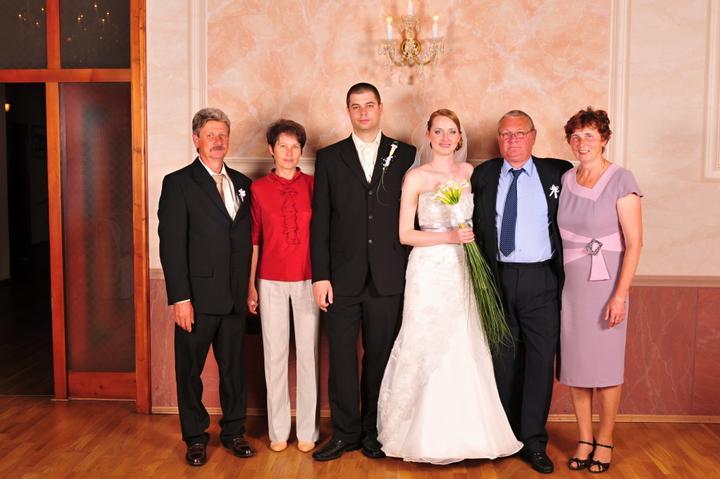 Janka{{_AND_}}Dušanko - s rodičmi