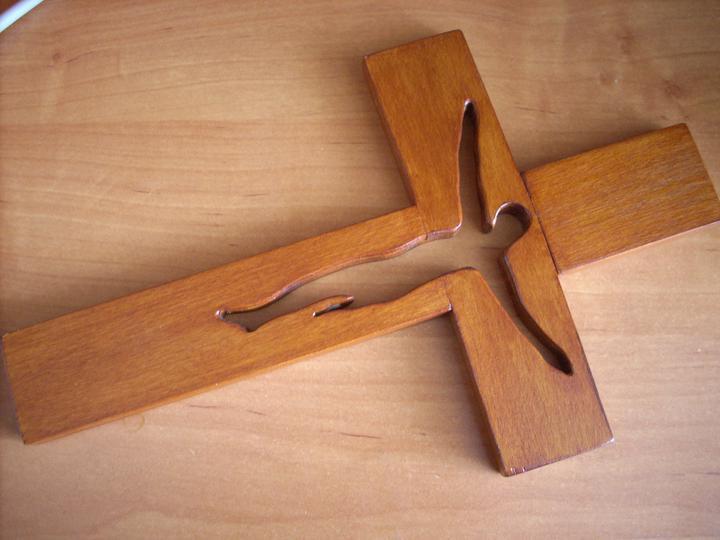 Nejaké tie predstavy :) - Kúpený krížik...
