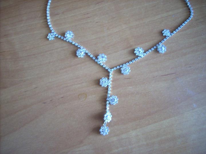 Nejaké tie predstavy :) - Svadobný náhrdelník...