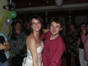 taneček s manželem mé svědkyně
