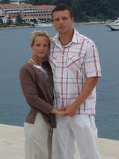 Tak to jsme my dva na dovče v Chorvatsku