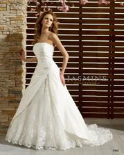 moje šaty ;o)) Já tam nejsem,aby mě ženich neviděl.