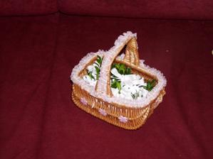 košíček s voničkami