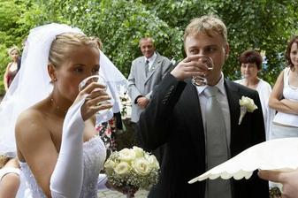Příjezd novomanželů