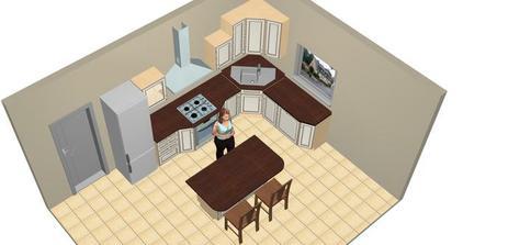 prvy navrh kuchyne...