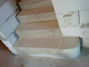 prvý schodík...dúfam že to vo finiši bude dobre vyzerať