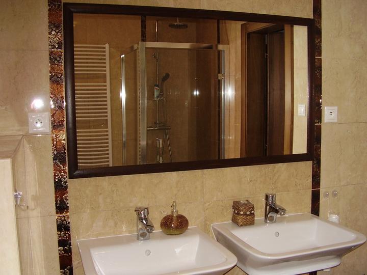 Kúpelňa - a mame zrkadlo...