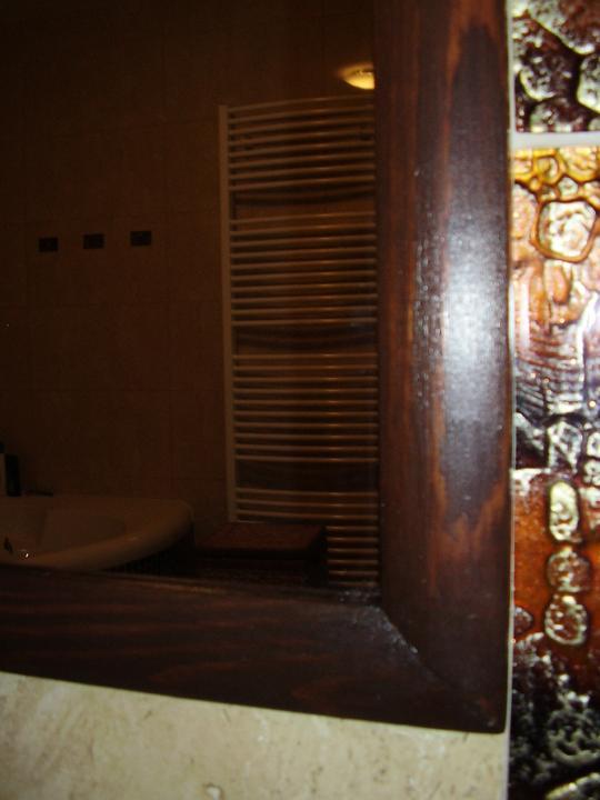 Kúpelňa - detail zrkadla