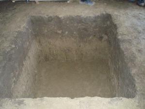 pivnička vykopana
