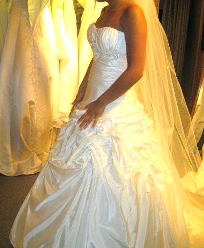 The dress!!!!!!! :D - This isnt me just found this pic on google