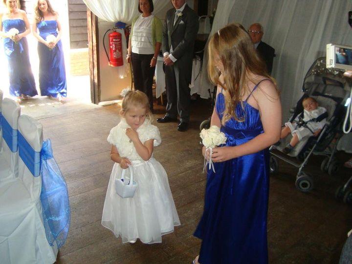 Joanna Edlin{{_AND_}}Danny Pearce - Flower Girl and junior bridesmaid xxxx
