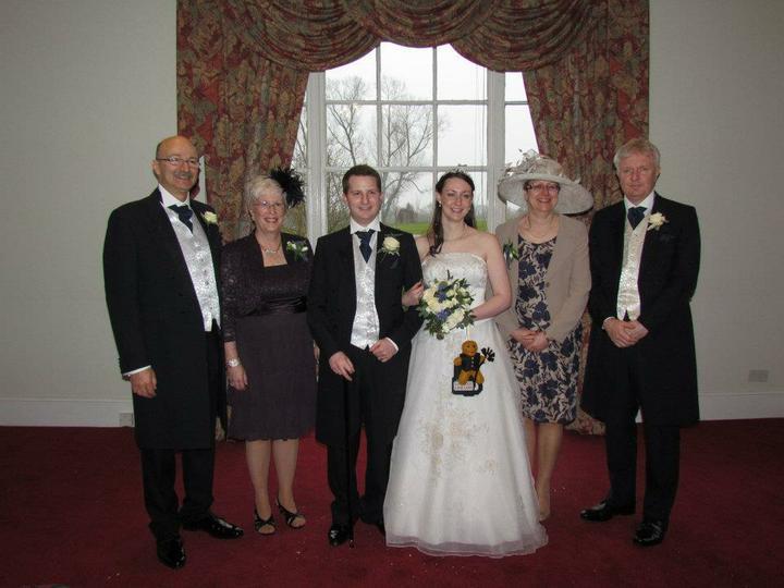Sarah Simmonds{{_AND_}}Jon Friedman - In-laws, us, my parents