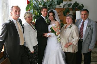 Fotka s rodiči