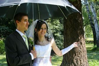 S deštníkem