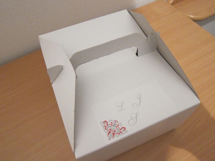 Co už máme - krabička na výslužky