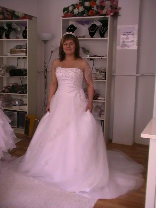 Svadobné šaty - tieto sú tie pravé ...