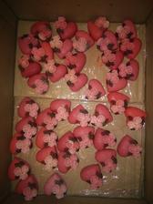 ružové mydielka
