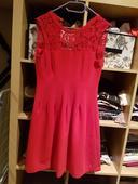 Červené šaty H&M, 38