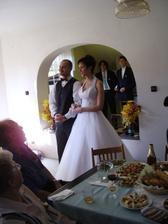 Ženich spatřil nevěstu