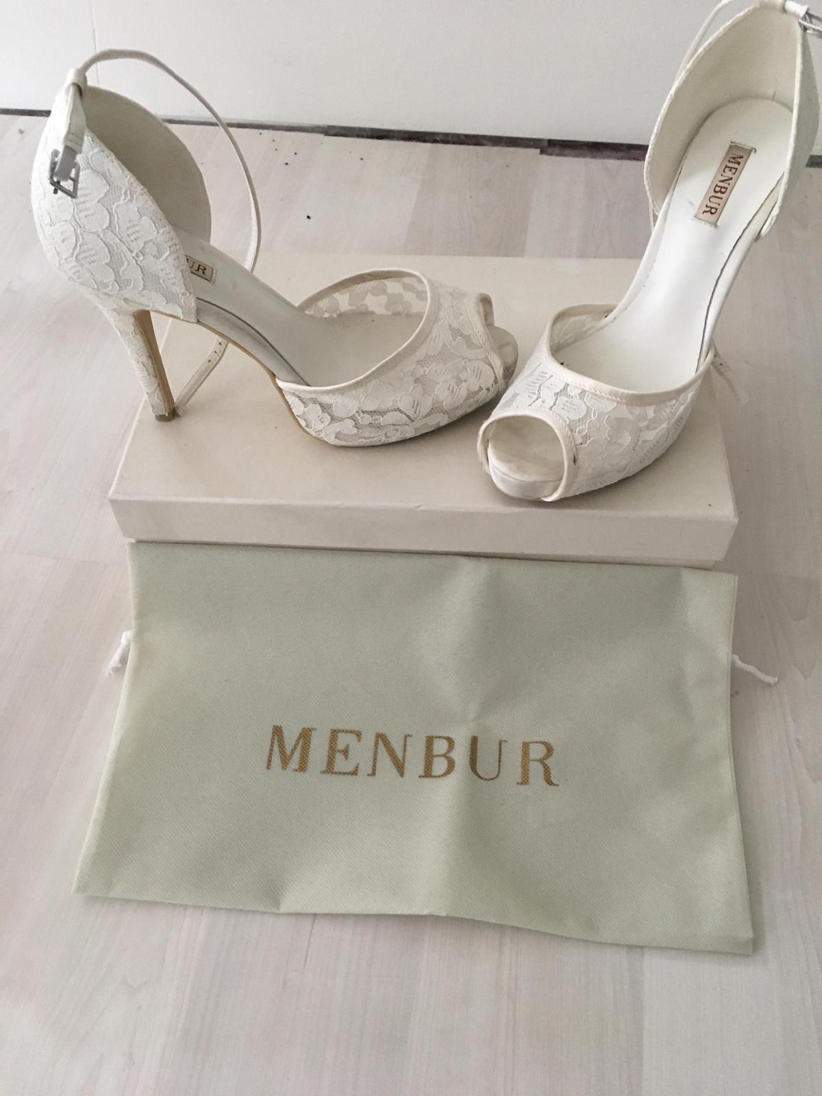 Svadobné sandále Menbur - Obrázok č. 1
