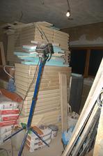 Skladiště - PIR panely do podlahy