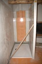 Vanička je tam, jak jsme se těšili až se tam osprchujem:)
