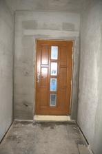 Nové dveře zevnitř