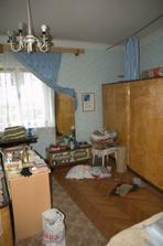 Bývalá ložnice a toho harampádí...
