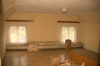 Tohle byl jediný pokoj na půdě...