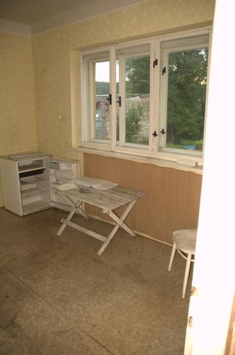 Od začátku do ... - Bývalá kuchyň, všechno je vyklizeno.