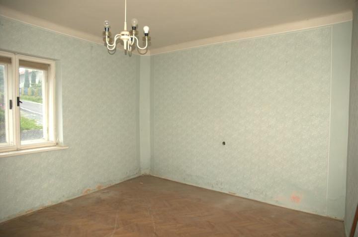 Od začátku do ... - Bývalá ložnice, už bez harampádí...