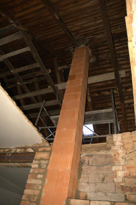 Od začátku do ... - A komín nám vyrostl až po střechu.