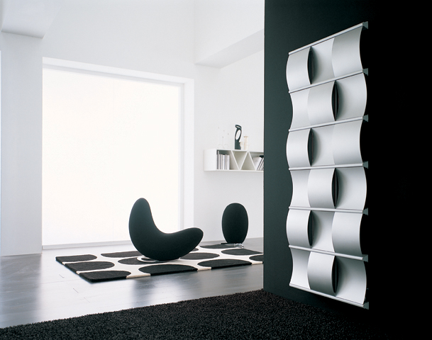 Inšpirácie - Interior design radiator - Curval Irsap A