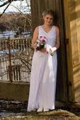 svadobné šaty 38 -40,  aj pre tehotné + darček, 40