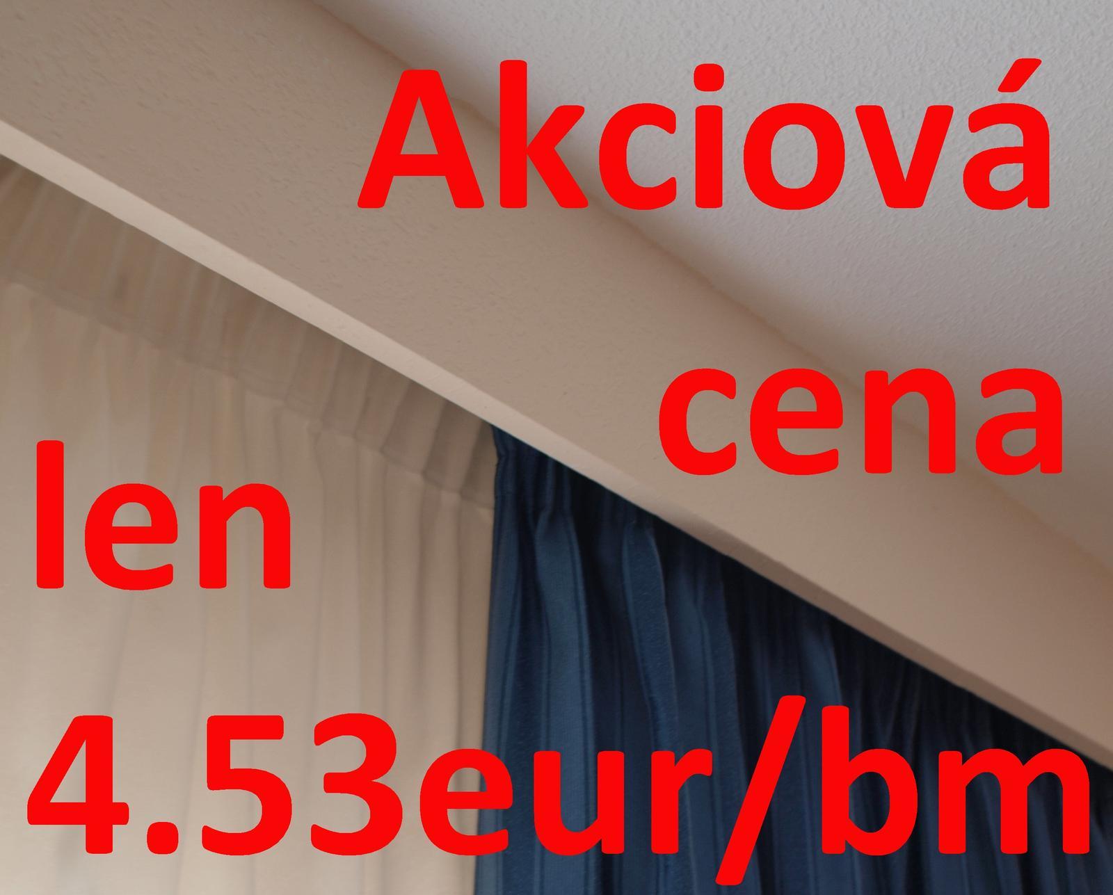 Sadrokartónové garniže: shop.easyboard.sk - Zvyhodnene ceny na niektore rozmery sadrokartonovych garnizi