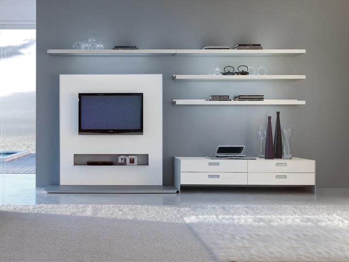 Z steny za telev zor in pir cia for Modulares de tv modernos