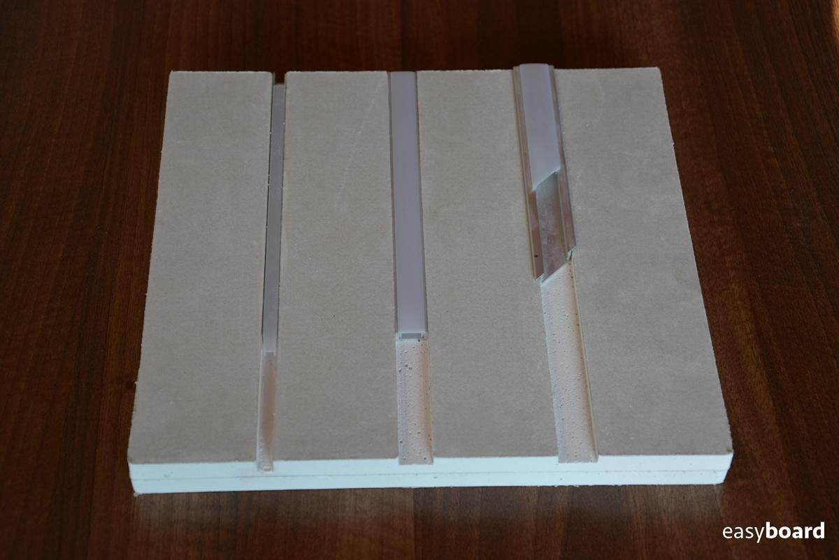 Zafrézované LED lišty do sadrokartónu - Obrázok č. 10
