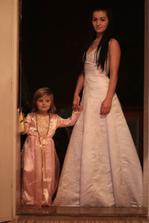 moja mladsia sestra v mojich satickach, princezna v ruzovom je moj drobec