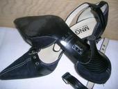 Kožené sandále Mango - 40, 40