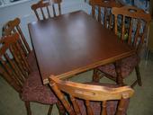 Rozkladací stôl + stoličky masív,